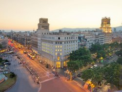 Top-10 hotels in the center of Barcelona