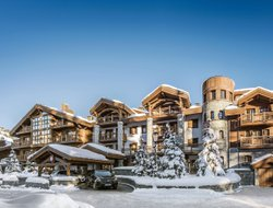 Courchevel hotels with swimming pool
