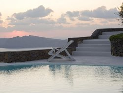 Santorini Island hotels with sea view