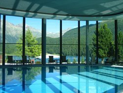 St. Moritz hotels with lake view