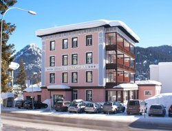 Top-10 hotels in the center of Davos