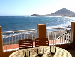 El Medano hotels with sea view