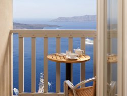 Fira hotels with panoramic view