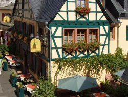 Top-10 hotels in the center of Ruedesheim am Rhein