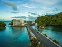 Palau hotels with sea view