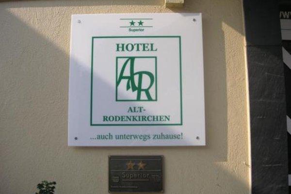 Hotel Alt-Rodenkirchen - фото 22