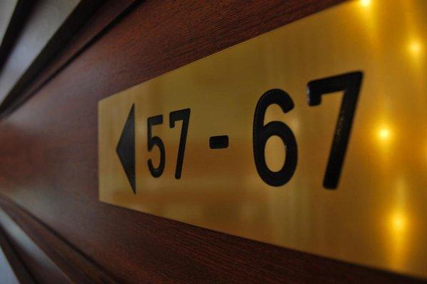 Land-gut-Hotel Nordsee, Hotel Schild - фото 11