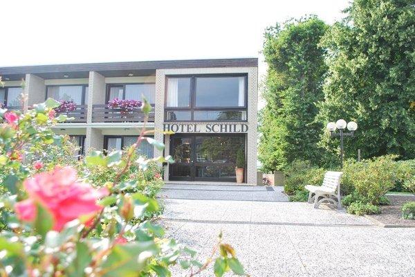 Land-gut-Hotel Nordsee, Hotel Schild - фото 15