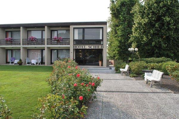 Land-gut-Hotel Nordsee, Hotel Schild - фото 20