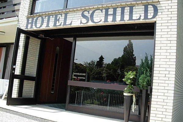Land-gut-Hotel Nordsee, Hotel Schild - фото 23