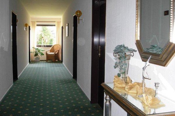 Land-gut-Hotel Nordsee, Hotel Schild - фото 8