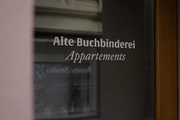 Alte Buchbinderei Appartements - фото 19