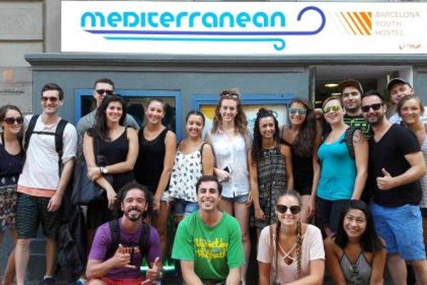 Mediterranean Hostel Barcelona - фото 10