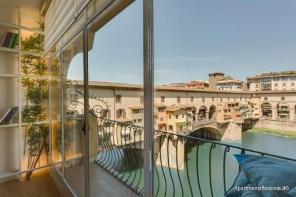 Apartment Ponte Vecchio Balcony - фото 10