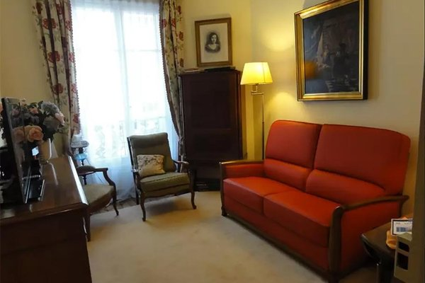2 rooms - next to the Eiffel tower - Trocadero - 4