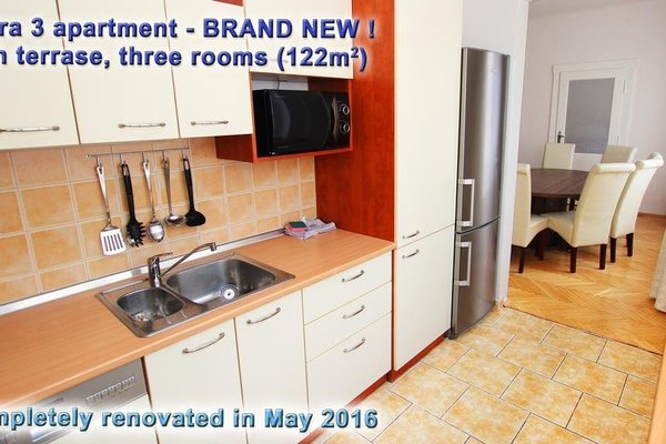 Astra 3 - Large Apartment with Terrace - фото 14