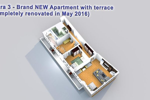 Astra 3 - Large Apartment with Terrace - фото 16
