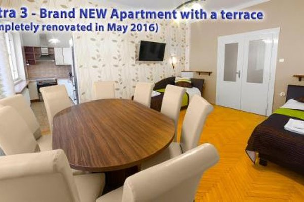 Astra 3 - Large Apartment with Terrace - фото 21
