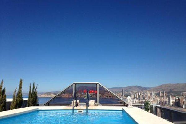 Benidorm Gemelos penthouse with private pool - фото 47