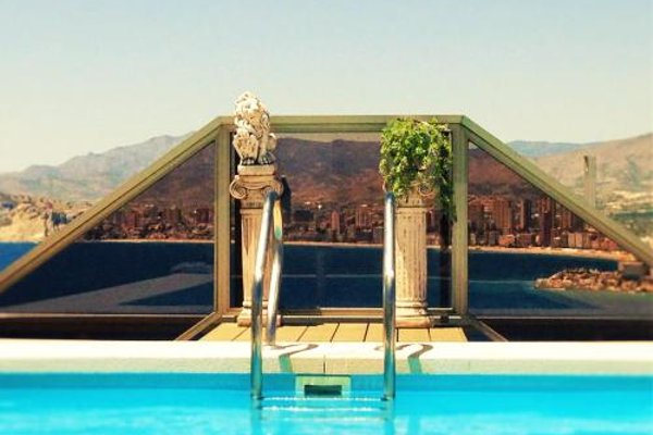 Benidorm Gemelos penthouse with private pool - фото 9