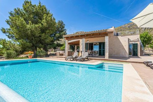 Holiday Home Puerto de Alcudia with Fireplace I - фото 10