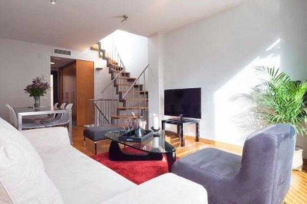 Apartment Barcelona Rentals - Attic Terrace apartment - фото 10