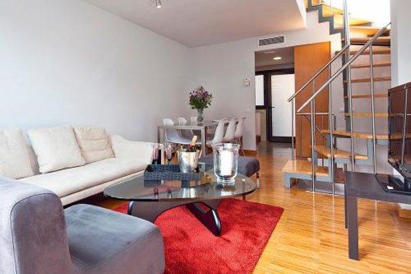 Apartment Barcelona Rentals - Attic Terrace apartment - фото 12