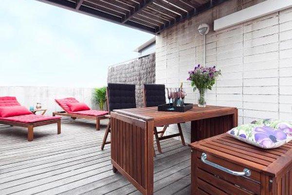 Apartment Barcelona Rentals - Attic Terrace apartment - фото 5