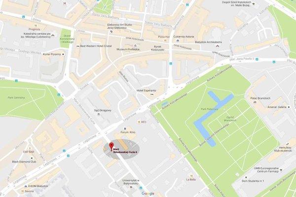 Apartament Centrum - Marii Sklodowskiej-Curie 6 - 19