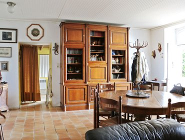 Апартаменты Comfortable, 2-bedroom house near Lorient with Internet, a furnished terrace and breathtaking views!