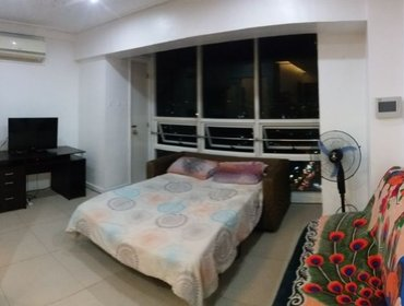 Апартаменты 1BR Condo Central Cebu Pool + View