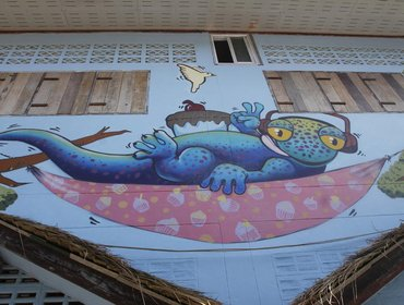 Хостел Gecko Republic Jungle Hostel