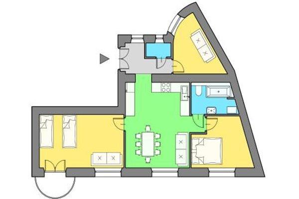 Royal Castle Apartment - 21