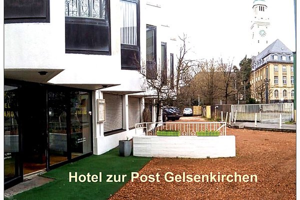 Hotel zur Post Gelsenkirchen - фото 19