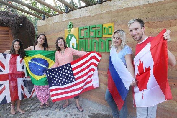 Hostel Casa Do Mundo - фото 8