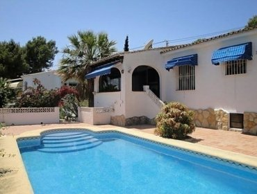 Apartments Rental Villa Baladrar - Benissa, 2 bedrooms, 4 persons