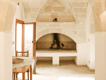 อพาร์ทเมนท์ Beautiful house in the historic centre of Surano, Puglia, with 4 bedrooms, air con & rooftop terrace