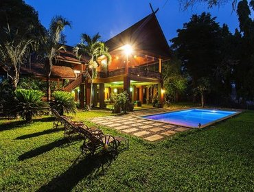 Апартаменты River Villa 7BD6BA with Private Pool