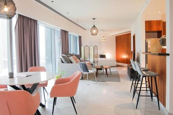 Nasma Luxury Stays - Central Park Tower - фото 12