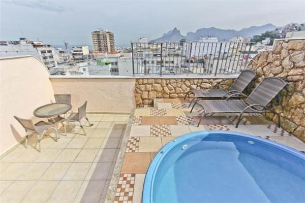 Penthouse duplex with Private Pool and View in Copacabana - фото 50