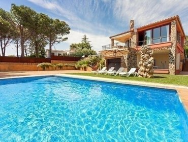 Апартаменты Rental Villa Calonge - Calonge, 4 bedrooms, 8 persons