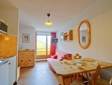 อพาร์ทเมนท์ Rental Apartment Les Cimes de Caron - Val Thorens, studio flat, 4 persons