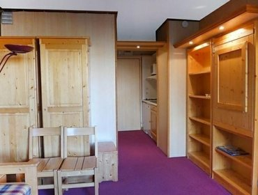 Апартаменты Rental Apartment Les Moutieres B1 et B2 - Tignes, studio flat, 3 persons
