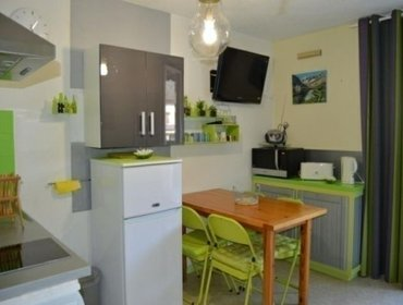 Апартаменты Rental Apartment HAMEAU DE SOUARIBES - Esquieze-Sere, studio flat, 4 persons