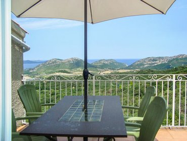 Apartments Stunning villa apartment in Barbaggio w/ BBQ terrace, kids' pool, WiFi, mountain- & sea views