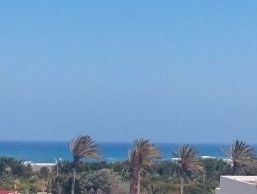 Apartments Central apartment in El Matorral, Fuerteventura, with 2 sea-view balconies - 500m from beach
