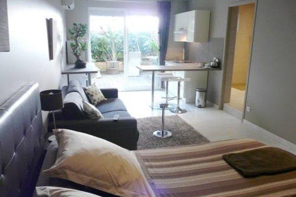 Appartements Le Clos des Bambous - фото 4