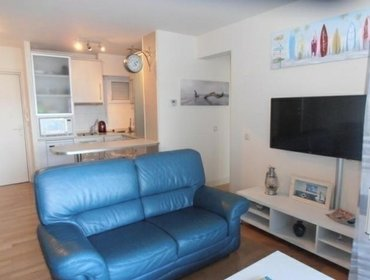 อพาร์ทเมนท์ Rental Apartment Port Hendaye 121 Bis 1 - Hendaye, 1 Bedroom, 4 Persons