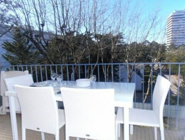 อพาร์ทเมนท์ Rental Apartment NAUTILUS - La Baule, studio flat, 3 persons