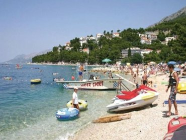 อพาร์ทเมนท์ Rental Apartment Makarska-Baska Voda - Baska Voda, studio flat, 3 persons